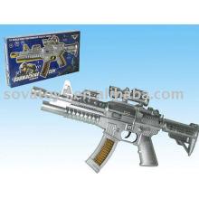 914020376 arma de brinquedo de bateria, arma de brinquedo com som, arma de faísca com música