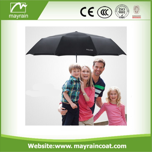 Outdoor Black Color Umbrella Folding