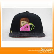 3D Stickerei Snapback Caps 6 Panel Hysteresen Hüte
