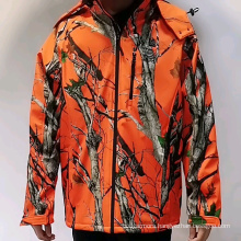 Cordless Camo Heated hunting jackets with rechargeable battery