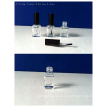 12ml Square Glass Nail Polish Bottle with Cap and Brush