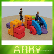 The ancient water wheel combination Playing Toys of Plastic Toy Block
