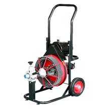 D-330ZK máquina de limpieza de tuberías con cables, ruedas, CE