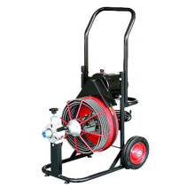 D-330ZK electric pipe cleaning machine with cables,wheels,CE