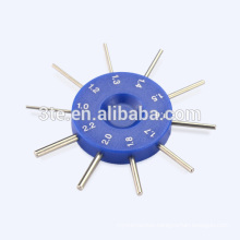 Optical Lens Hole Gauge for screws