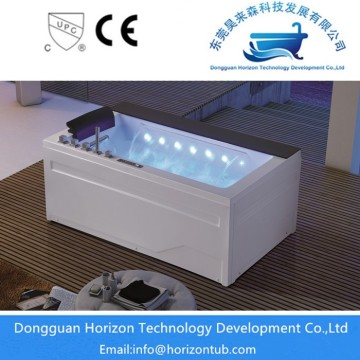 Waterfall massage bathtub with LED
