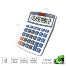 Calculadora eletrônica de mesa com 12 dígitos