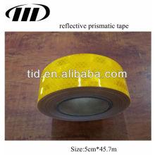 cinta reflectante prismática