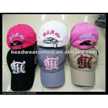 2015 fashion custom baseball sports caps with 3D embroidery logo