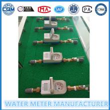 Medidor de prepago para el suministro de agua a los apartamentos