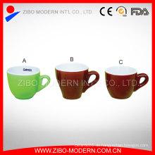 Großhandel Mini Kaffee Keramik Tasse und Untertasse