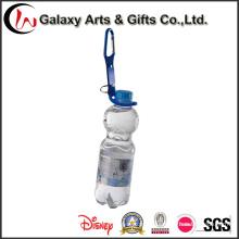 Moda personalizada botella titular Lanyard con mosquetón