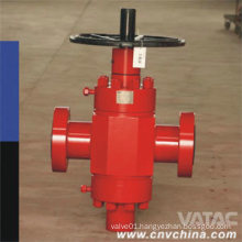 Rising Stem RF API 6A Gate Valve with Handwheel Operated
