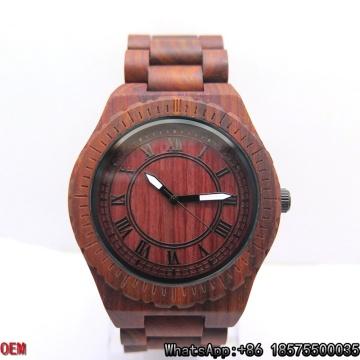 Vente chaude montre en bois, meilleure qualité montres en bois