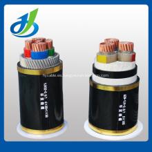 Cable de alimentación blindado aislado Hv XLPE