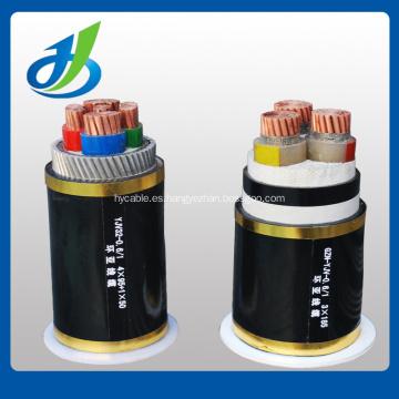 Cable de transmisión de alta calidad aislado PVC del 0.6 / 1kv Cu / Al, venta directa de la fábrica