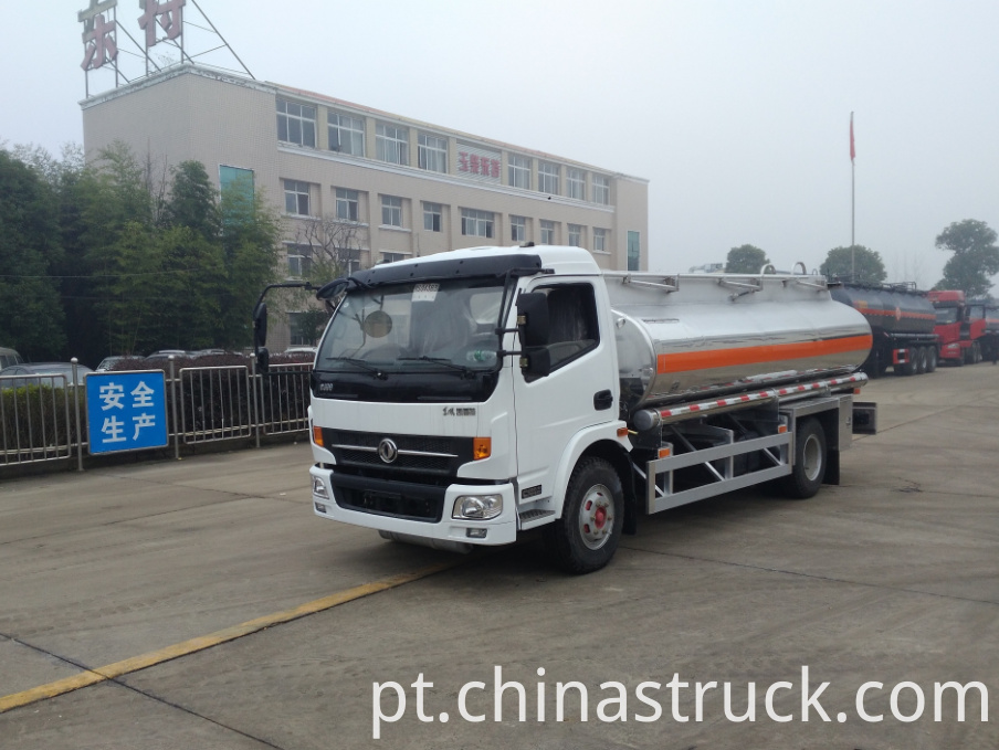 7000 Liters Aluminum alloy fuel truck