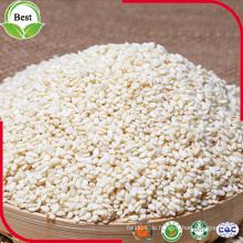 Natürliche organische weiße Sesamsamen