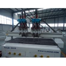 Roteador de Madeira CNC com Multi Cabeças