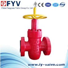 Válvula de compuerta API 6A de gasóleo
