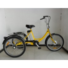 "24"" Pedal Assisted Electric Cargo Trike"