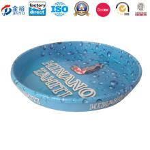 A bandeja material do bolo do metal do produto comestível do patim para comemora Jy-Wd-2015122605
