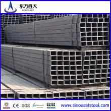 Tubo de acero cuadrado negro fabricado en China