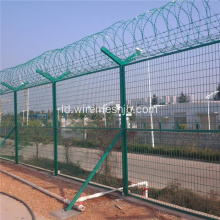 Pagar Wire Fence-Welded Wire Mesh yang Indah