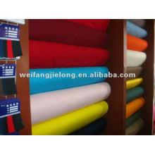 poly / coton popeline teints tissu pour vêtement ou doublure 45S * 45S 110 * 76 avec de haute qualité et le plus bas prix