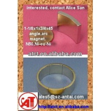 Neodymuim Bogen Magnet für magnetische Motor um zu verkaufen / Magnet Generator/Motor Magnet