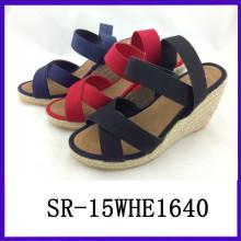 2015 new summer sandals fashion flog shoes ladies fashion shoes lady shoe
