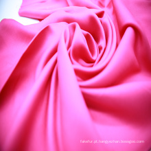 Moda tecido de cetim rayon de cor brilhante para pijama