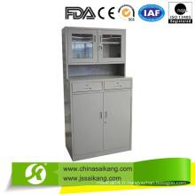Cabinet de médecine d'armoire d'instrument de l'hôpital (SKH054)