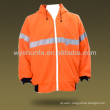 Hi Vis Safety Fleece Hoodies Jacket