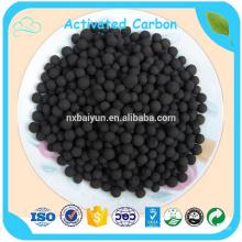 Гранулированный уголь на основе гранул активированного угля