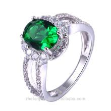 Mais recente Design Banhado A Ouro de latão jóias Moda 24 Quilates de Ouro Anéis De Casamento Para As Mulheres