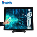 OEM 15 pulgadas monitor de pantalla táctil industrial LED