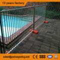 grande capacité de charge démontable à chaud galvanisé clôture temporaire