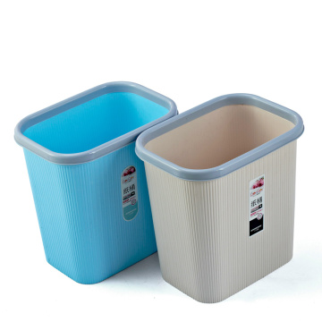 Plastic Open Top Rectangle Dust Bin