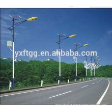 100w de poupança de energia e poste de luz ambiental da estrada