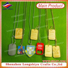 Different Shaped Dog Tags Colorful Dog Tags with Embossed Logo
