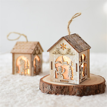 Fairy Tale Artistic Conception Wooden Chirstmas Decoration