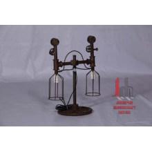 Schmiedeeisen-Industrie-Lampe