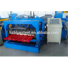 Automatic Roof Tile Making Machine, Aluminium Roofing Step Tile Rolling Former Machine