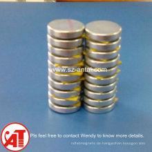 Super starke Neodym Lautsprecher Magnet 8mm Durchmesser * Höhe 3mm n45