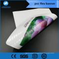 bannière flexible de rétro-éclairage Flex stratifiée 510g pour l'application de publicité extérieure