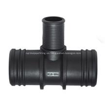 Conector de manguera de 3 vías - T4 ID35-20-35