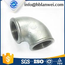 accesorios de tubería de hierro maleable con cuentas