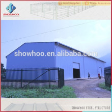 large span steel sheds prefabricated for south africa fast house structure