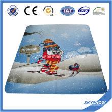Manta de paño grueso y suave del regalo de Navidad (SSB0188)